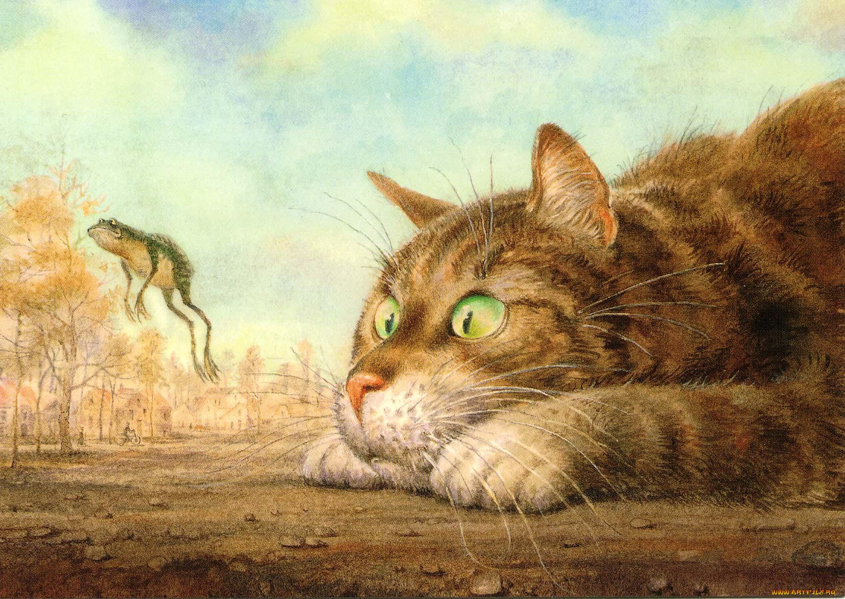 заказывать коты и кошки картинки рисунки вот интересно